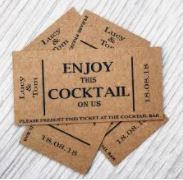 $10 Cocktail Tokens